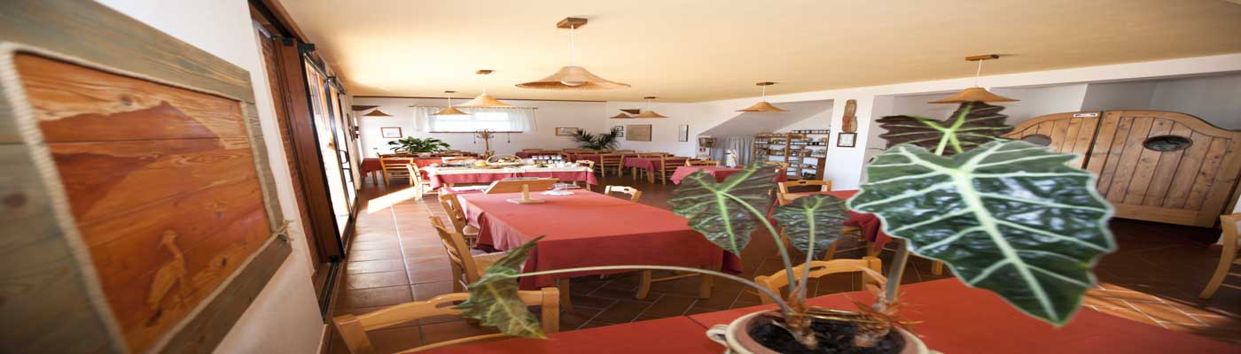 vista interna ristorante entrata